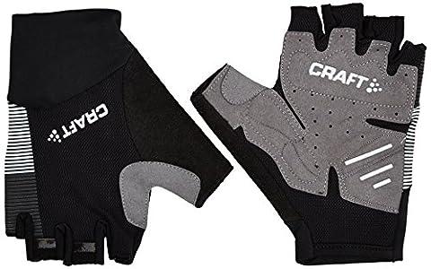 Craft Herren Glow Gloves Radhandschuhe, Black/Silver,