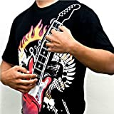 5600K T-Shirt mit spielbarer Gitarre, Größe XL, E-Gitarre