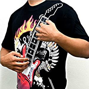 5600K - T-shirt musicale con chitarra elettrica T-shirt musicale con chitarra elettrica.