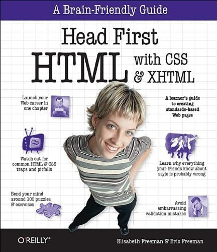 Head First HTML with CSS & XHTML by Eric T Freeman (2005-12-18)
