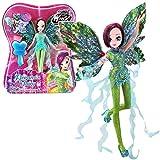 World of Winx - Dreamix Fairy - Tecna Poupée 28cm avec Robe Magique