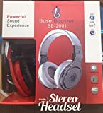 Best Base Headphones - Headphone Base Booster bb-2001 Red Review