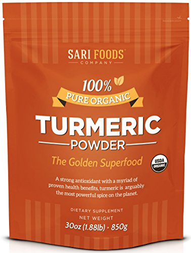 Bio Curcuma Pulver/Reines Kurkuma (850g) Pure Natural Organic Turmeric Powder (30 ounce): Natural Vegan Whole Food Based Curcumin Superfood Supplement: The Golden, Antioxidant Spice with Benefits. -