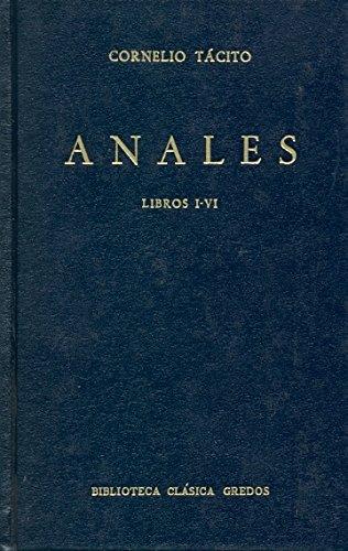 Descargar Libro Anales libros i-vi (B. CLÁSICA GREDOS) de Cornelio Tacito