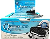 Quest Nutrition Quest Bar 12 x 60 grams Cookies and Cream Bild 3