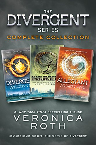 The Divergent Series Complete Collection: Divergent, Insurgent, Allegiant (English Edition) (Insurgent Veronica Roth)