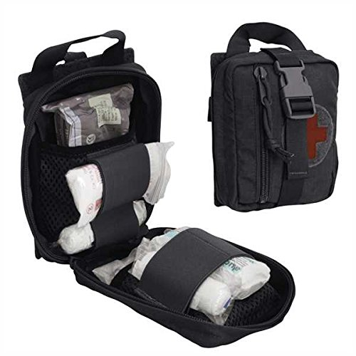 Templars Gear Rip-Off First Aid Pouch Schwarz, Schwarz - Medic First Aid