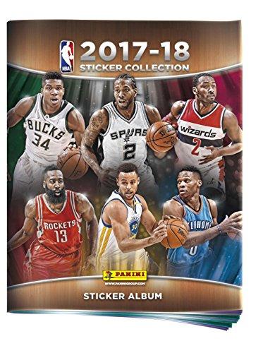 Panini 2331–009–NBA 2017–2018álbum 72páginas