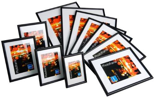 Kenro Frisco 8x10'' Black Photo Frame Non-Wood (Pack 1) [FR2025B]