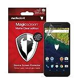MediaDevil Google Nexus 6P (2015) Bildschirmschutzfolie: Magicscreen Matte Clear (Blendschutz) Edition [2 Stück]