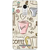Mi Note 3 Back Cover - All I Want Coffee - For Coffee Lovers - So Girly - Hard Shell Back Case