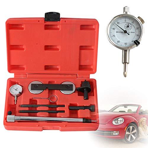 YIYIBY Steuerkette Wechsel Werkzeug Messuhrhalter, Wechsel für VW Audi VAG 1.2/1.4/1.6 FSI TFSI