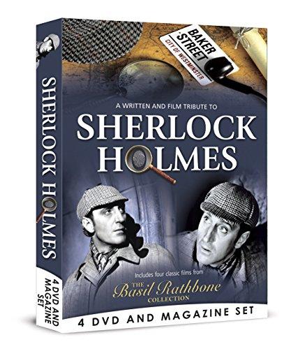 Sherlock Holmes - 4 DVD BOXSET [4 DVD & Bookazine Gift Set]