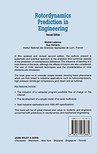 Rotordynamics Prediction in Engineering