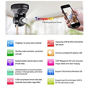 Vstarcam-H264-1280-x-720p-Home-Surveillance-Camera-Wireless-IP-Camera-Built-in-Microphone-with-One-Key-WI-FI-Configuration-APP-Motion-Detection-Remote-Viewing-Function-3dBi-WIFI-AntennaBlack