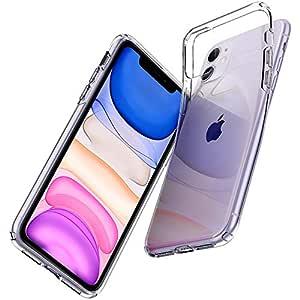 Spigen Liquid Glitter, Back Cover Case Designed for iPhone 11 (2019) - Crystal Clear