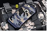 iPhone 4 iPhone 4s Back Cover Case,LUXURY Leather Blue Camouflage Back Cover Case for APPLE iPhone 4s iPhone 4g Back Cover Case Shockproof PC+TPU