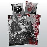 Bettwäsche Herding glatt The Walking Dead Daryl + Rick Armbrust 135 x 200 cm NEU - All-In-One-Outlet-24 -