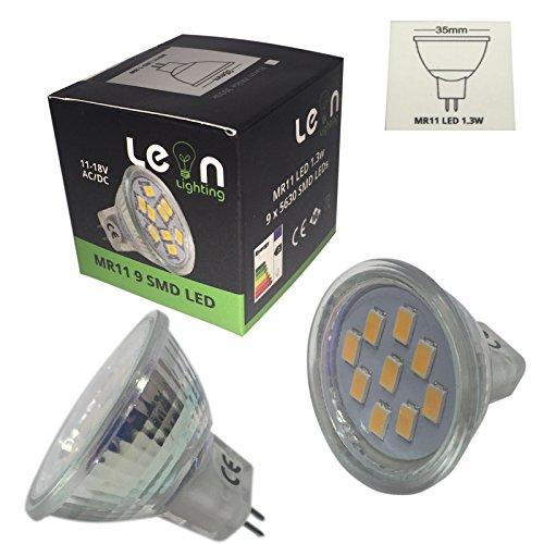 MR11, GU4, lampadine tipo faretto a LED