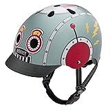 Nutcase Street Helmet Tin Robot Kopfumfang M | 56-60cm 2018 Fahrradhelm