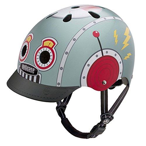 Nutcase Street Helmet Tin Robot Kopfumfang S | 52-56cm 2018 mountainbike helm downhill