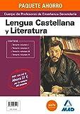 PAQUETE AHORRO LENGUA Y LITERATURA  CUERPO DE PROFESORES DE ENSEÑANZA SECUNDARIA