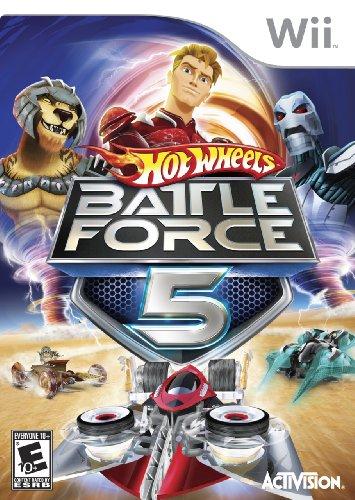 Hot Wheels: Battle Force 5 - Nintendo Wii (Wii Hot Wheels Spiel)