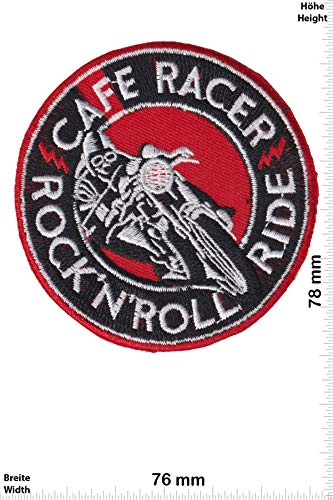 21437e74ed1a Parches - Cafe Racer - Rock'n'Roll Ride - Bikerpatch - Cafe Racer