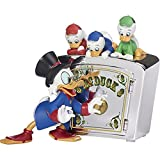Dagobert Duck Precious Moments Disney Family is Priceless DuckTales Resin Bank 173702 Spardose