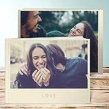 Fotobuch selbst erstellen, Fotobuch Solo 40 Seiten, 20 Blatt, Hardcover 290x222 mm personalisierbar, Braun