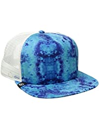 Neff Men's Washer Trucker Snapback Hat Blue