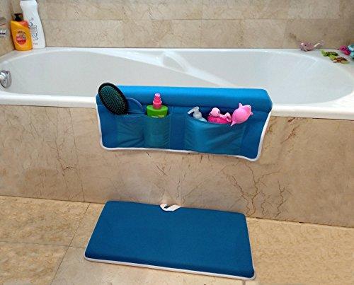 Alfombra salva rodillas + Almohadilla cojín baño para codos | Alfombrilla bebé...