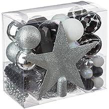 Lotto di decorazioni natalizie - kit 44 pezzi per decorazione