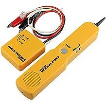 DAXGD Portátil RJ11 red de teléfono de teléfono cable probador de tóner de alambre rastreador de