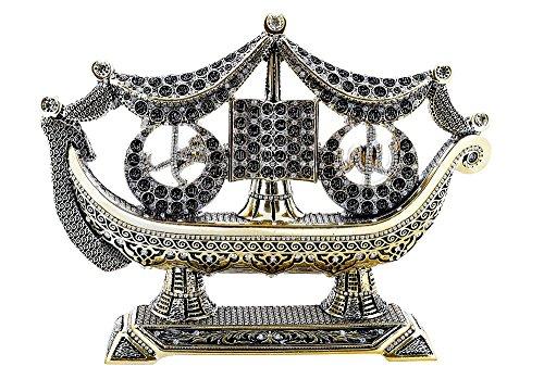 Yagmurcan Asma ul Husna 99 Namen Allah-Namen mit Strass Islamische Kunst Skulptur Tischdeko