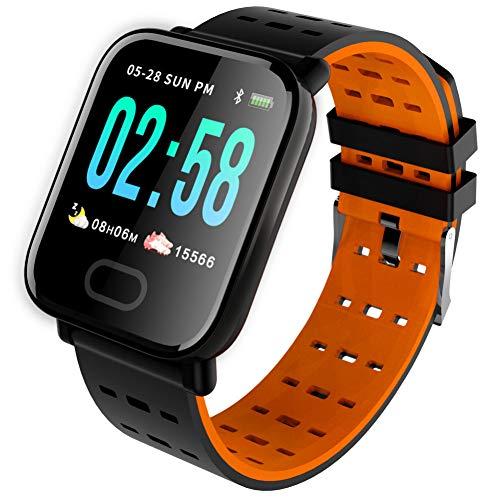 Znmtz Smart Wearable Device Smart Sport Farbe Armband Bildschirm Silikon Schrittzähler Herzfrequenz Wasserdicht Schlaf
