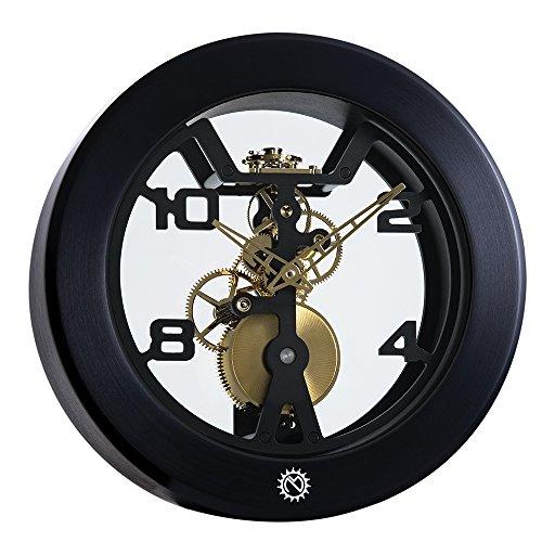 matthew-norman-wind-black-palladium-mens-womens-clock-503648201