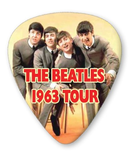 Beatles 1963 5 X Premium Gitarre Pick Plektrums Plektrons Medium Plectrums - 1963 Pick