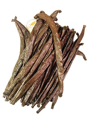 Vanilleschoten aus Tahiti, authentische tahitianische Vanille von Slofoodgroup, Klasse A Vanilleschoten je 2 Stück - Vanille-bohnen