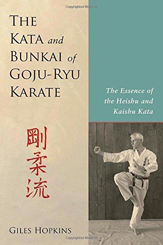 The Kata And Bunkai Of Goju-Ryu Karate por Giles Hopkins