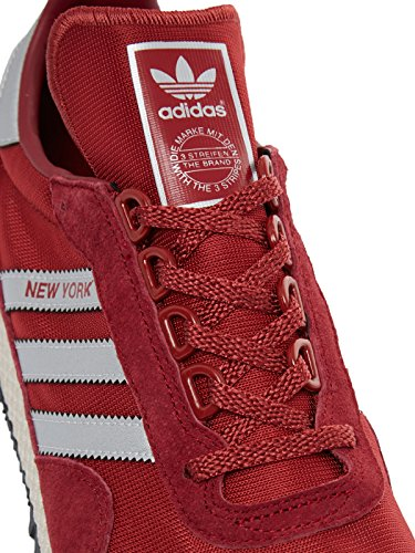 adidas Originals New York, collegiate burgundy-matte silver-mystery red rot