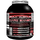 ALPHAPOWER FOOD® POWERPURE SERIES: 100%Massive Bulk-Muscle Hard Gainer Platinum Standard