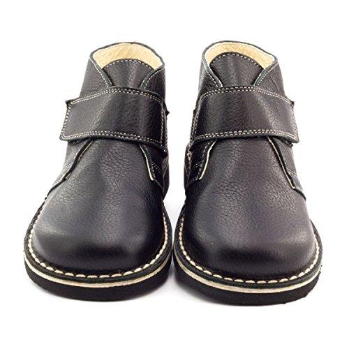 Boni Carles - Knöchelschuhe aus Leder für Jungen Schwarz
