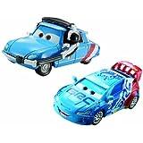Disney Pixar Cars 2-pack Raoul Caroule & Bruno Motoreau by Mattel