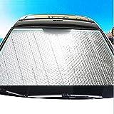 FDSEA Auto Schatten Windschutzscheibe Sonnenschutz, Sonnenblende für die Frontscheibe des Autos blockiert UV, um Ihr Auto kühl zu halten, 130 * 60cm