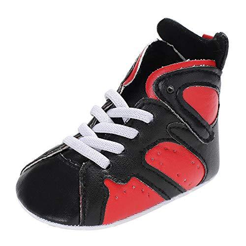 Paolian Baskets Respirantes de Couleur Haute Couture de l'automne pour Enfants, Chaussures de Course pour Enfants en Bas âge légers et Confortables