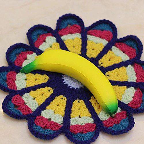 Restaurierbar Stressabbauend Pu Bananen Dekoration Spielzeug Geschenk Finger Spielzeug Innen Dekoration ()