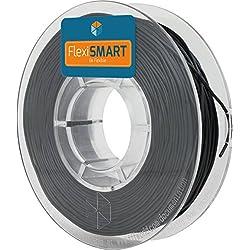 FlexiSMART Negro 250 g. Filamento Flexible TPU 1.75mm para Impresora 3D - Flexible Filament for 3D Printing - TPE Filament, TPU Filament, Elastic Filament
