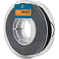 250 g. Black FlexiSMART 1.75 mm Filamento flessibile TPU per la Stampa 3D - Flexible filament for 3D printing - TPE filament, TPU filament, elastic filament