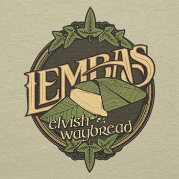 TEXLAB – Lembas the Elvish Waybread – Stoffbeutel, natur - 2